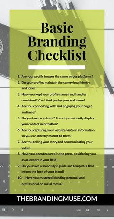 What It Means to Be Branded: A Basic Branding Checklist Branding Your Business, Business Marketing, Business Tips, Online Business, Personal Branding Strategy, Llc Business, Business Notes, Marketing Branding, Personal Logo