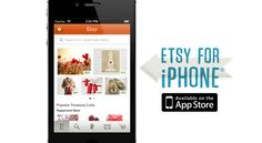 Etsy's iPhone app: inspiration to adhere to your brand's culture