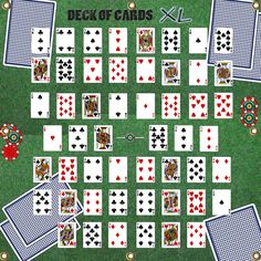 Poker cards by strength