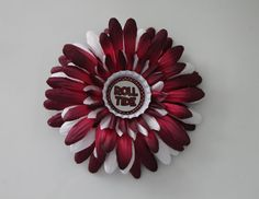 Alabama Crimson Tide Gerbera Daisy  4 by flowerchildbowtique, $3.99