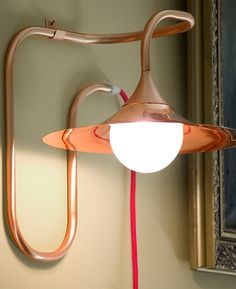 #copper wall #lamp with fixed arm TURBAYA by Intueri Light @intueri2012