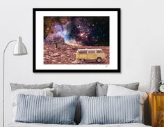 Discover «WANDERLUST», Numbered Edition Fine Art Print by Gloria  Sánchez - From 20€ - Curioos