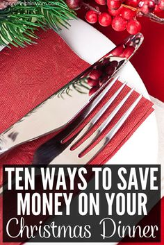 10 Simple Ways to Save on Your Christmas Dinner Budget Holidays, Christmas On A Budget, All Things Christmas, Christmas Fun, Christmas Parties, Christmas Cookies, Frugal Living Tips, Frugal Tips, Fourth Of July Food