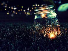 I miss catching fireflies