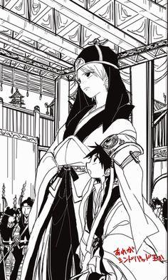 MAGI Ja'far y Aladdin en el Imperio Kou