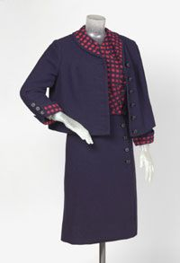 Woman's Suit: Jacket, Top and Skirt