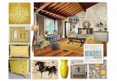 Yellow and Gray inspiration and printables