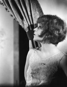 "Clara Bow circa 1926. -- Born: Clara Gordon Bow -  July 29, 1905 in Brooklyn, New York, USA |  Died: September 27, 1965 (age 60) in West Los Angeles, California, USA. #AmericanActress #SilentFilmActress '...rose to stardom in the silent film era of the 1920s. It was her appearance in the film ""It"" (1927) that brought her global fame and the nickname ""The It Girl."" Bow came to personify the roaring twenties and is described as its leading sex symbol. Appeared in 46 silent films and 11…"