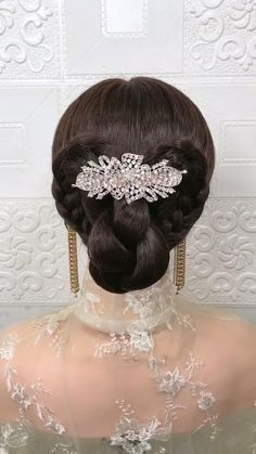 Bride Hairstyles, Summer Hairstyles, Cute Hairstyles, Bridal Hair Tutorial, Medium Hair Styles, Long Hair Styles, Hair Upstyles, Toddler Hair, Grunge Hair