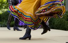Jalisco Folklorico Footwork.