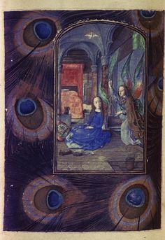 Heures d'Engelbert de Nassau, Matines (Heures de la Vierge), Flandres, c. 1470-1490, Bodleian, MS. Douce 219, fol. 97v