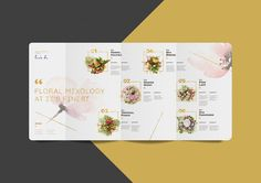 Flower Bar on Behance
