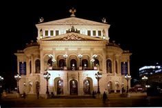 Opera House, Frankfurt, Germany. Saw the Phila Orchestra perform in this amazing place, Wow!