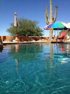 Desert Joy Clothing Optional Bed and Breakfast Tucson - Best Prices, Deals & B&B Reviews for rooms in Tucson, AZ - TripAdvisor. Imagine enjoying this view while skinny dipping!  Call 866-268-8852