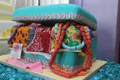 nigerian traditional wedding cakes designs   Pin Nigerian Traditional Engagement…