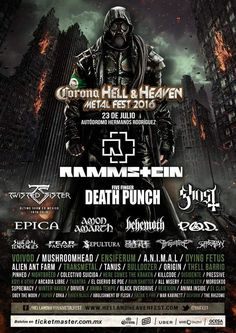 Se sabe que no hay quinto malo, por ello, el regreso a México del Corona Hell and Heaven Fest más grande de América Latina no será la excepción. Checa la lista final sólo por café y cabaret.