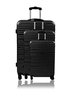 IT Luggage Megalite XWeave II 3 Piece Spinner Set Black *** Want ...