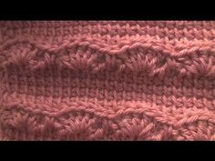 Crochet Geek - Andrew's Keepsake - Crochet Afghan Stitch Tunisian - Crochet Shell - YouTube