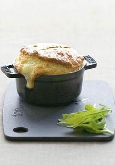 Soufflé normand au camembert