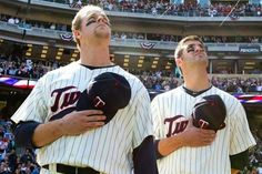Justin Morneau and Joe Mauer