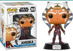 Stylized Collectible Funko Star Wars the Clone Wars Ahsoka Pop! Star Wars Clone Wars, Star Wars Meme, Star Wars Quotes, Star Wars Shop, Funko Pop Star Wars, Ahsoka Tano, Anakin Skywalker, Obi Wan, Guerra Dos Clones