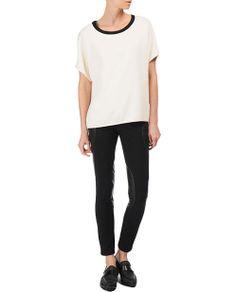 rag & bone Official Store, Egg T-Shirt, antq white fl, Womens : Ready to Wear : Tops & Shirts : Short, W235A412P