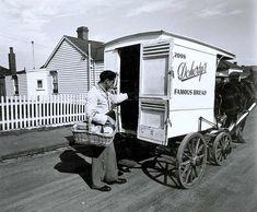 Delivering bread, Yarraville by Public Record Office Victoria, via Flickr