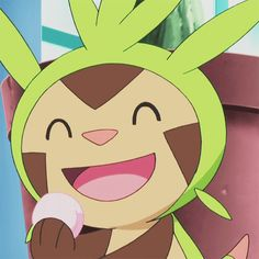 hungry chespin, don't eat all the Pokepuffs! Oh wait, they're everlasting :P