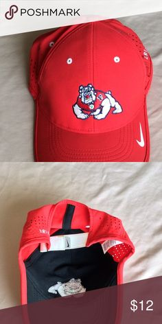 6bf3be3f21f890 Fresno State Red Hat Red Fresno State Bulldog Hat. Nike Accessories Hats  Red Hats