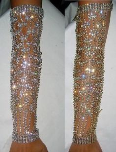 Rhinestone Havana Tropicana Arm Bracelet - CrownDesigners