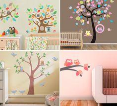 coruja-decoracao-quarto-bebe-papel-parede