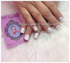Nails, nail art, strips, glitter