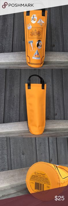 Bag for Wine Veuve Cliquot NWOT Brand New. Wine chiller.  Never used. Veuve Cliquot Bags Travel Bags