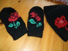 ruusulapaset ja virkattu hattu