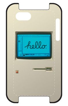 Apple Macintosh iPhone case -- cool!