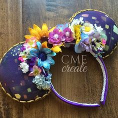Mickey ears- Tangled inspired