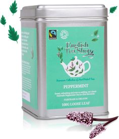 Peppermint tea is so refreshing| English Tea Shop