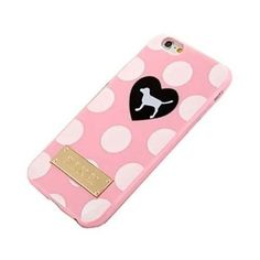 SuperBZ Apple iPhone 6 Plus Polka Dot Case Polka Dot Design Victoria... ❤ liked on Polyvore featuring accessories, tech accessories and victoria's secret