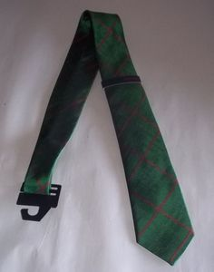 Rooster Green & Red Neck Tie New With Tag Diamond Pattern #Rooster #NeckTie
