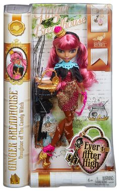 Amazon.com: Ever After High Ginger Breadhouse Doll: Toys & Games