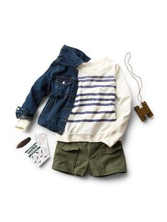 Women's Clothing: Women's Clothing: featured outfits shorts | Gap