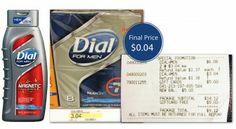 Dial for Men Bar Soap 8-Packs, Only $0.04 at Target!