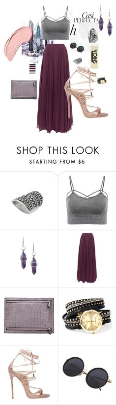 """""""yoins"""" by merveavci ❤ liked on Polyvore featuring Whiteley, Halston Heritage, Dsquared2 and NYX"""