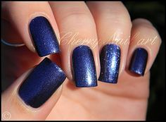 vernis lm cosmetic n°193 Denim collection blue jeans
