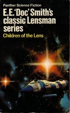 """CHRIS FOSS - Children of the Lens by E.E. """"Doc"""" Smith - 1973 Panther Books"""