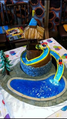 Water Park Cake This Summer And I Thought It Would