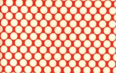 Amy Butler Fabric - Full Moon Polka Dot in Cherry 1 Yard