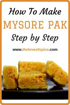 This mysore pak recipe will show you how to make mysore pak step by step - with tips and time-stamps, so that you can indulge in this delicious delight any time you want. Diwali Snacks, Diwali Food, Diwali Recipes, Healthy Meals For Kids, Quick Meals, Recipes With Bread Slices, South Indian Sweets, Indian Dessert Recipes, Indian Recipes