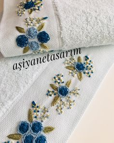 Hand Embroidery Dress, Flower Embroidery Designs, Crewel Embroidery, Embroidery Patterns, Foto E Video, Photo And Video, Embroidery Stitches Tutorial, Brazilian Embroidery, Yesterday And Today
