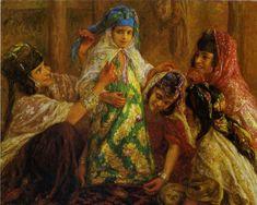 Alphonse-Etienne Dinet - Costume de Fete, French 1861-1929